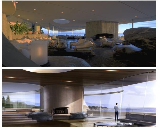Lautner's houses in movies